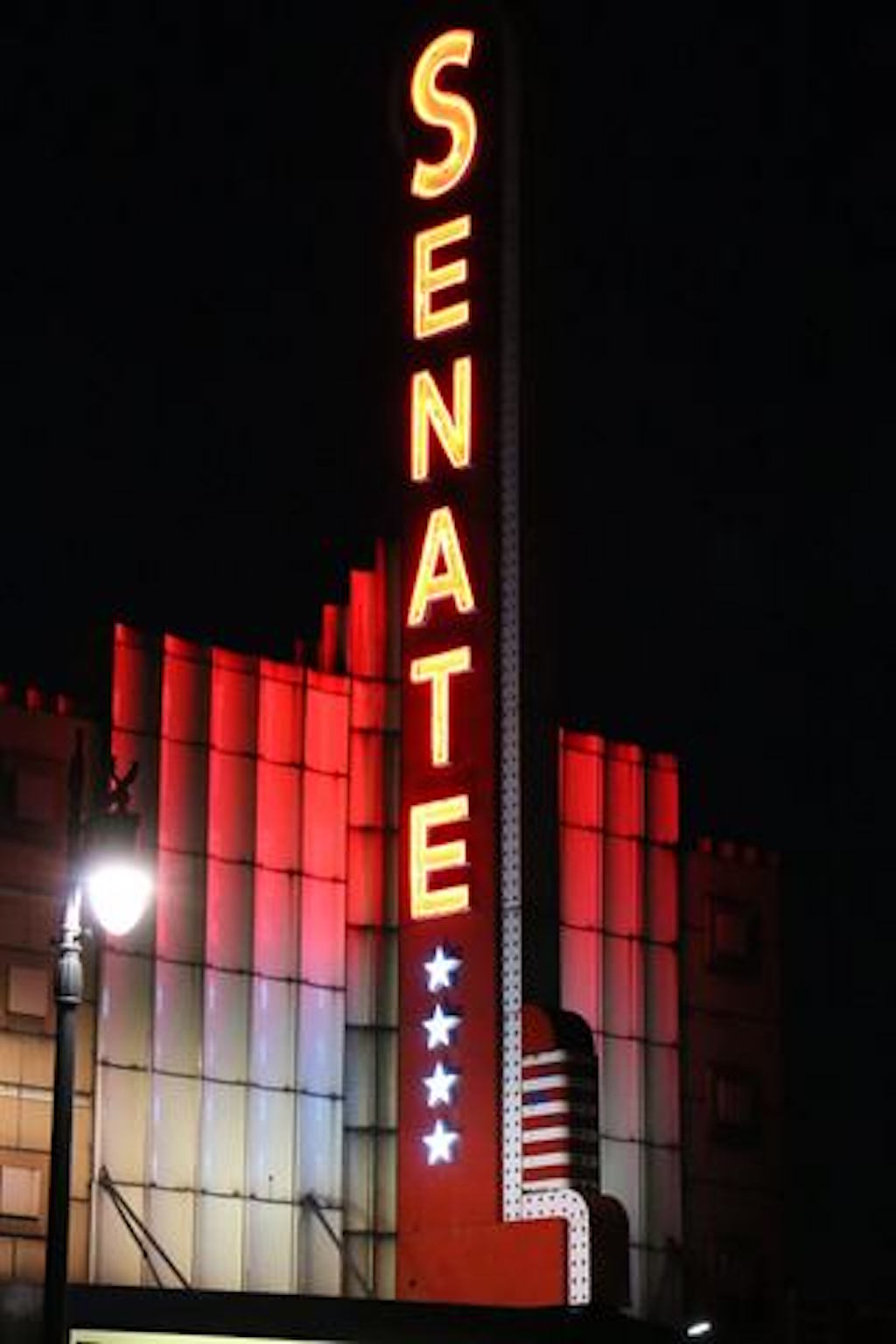 Senate Theater in Southwest Detroit