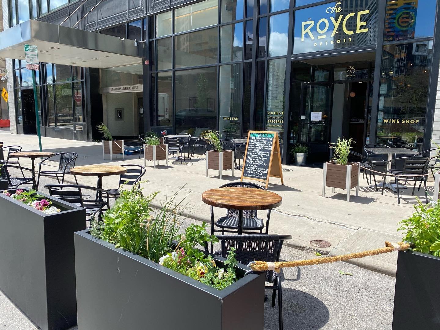 The Royce, located at 76 W Adams Ave.