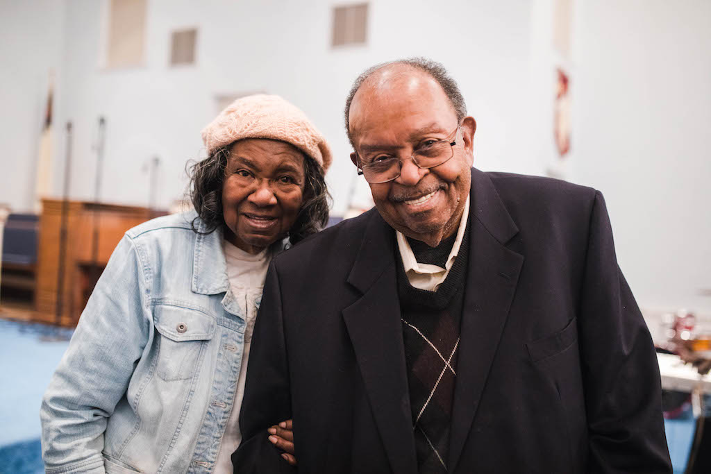 Pastor William A Harris + Dorothy Harris