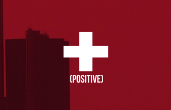 Screen grab: Positive logo.