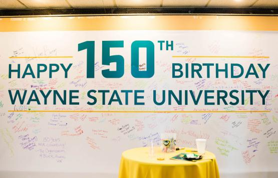 Happy 150th Birthday Wayne State