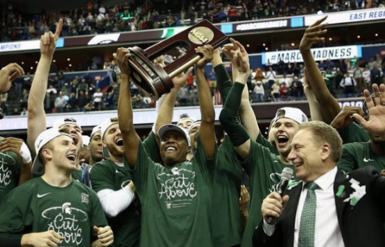 The MSU Spartans are headed to the Final Four
