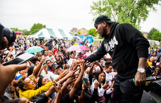 Jeezy, Neisha Neshae and more appear at Councilwoman Mary Sheffield's latest pop up
