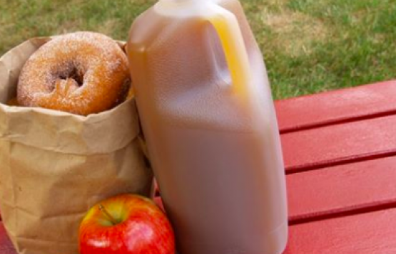 cider and donuts